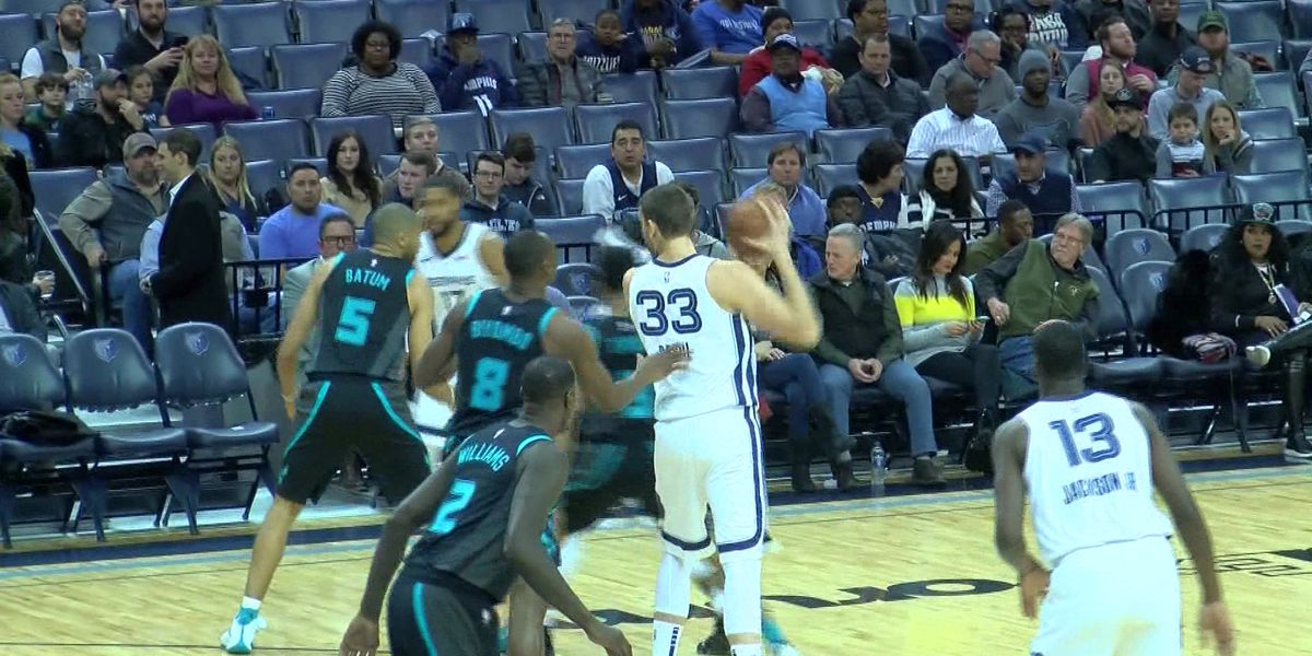 Big game from Gasol, Conley not enough as Hornets sting Grizz