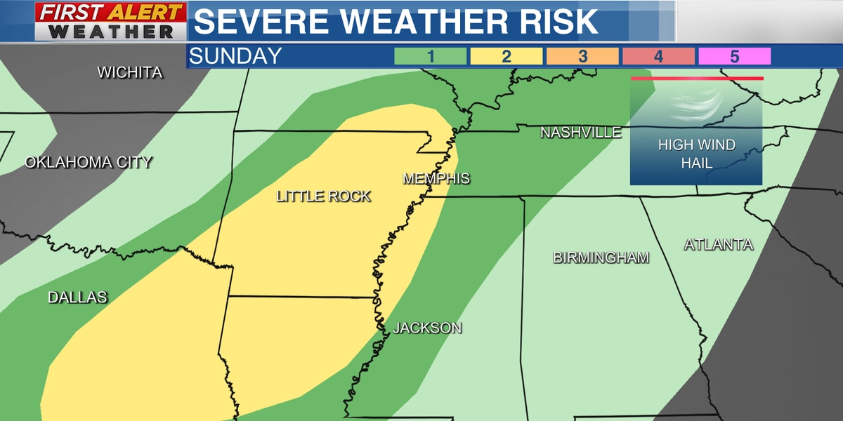 First Alert: Mother's Day could be stormy