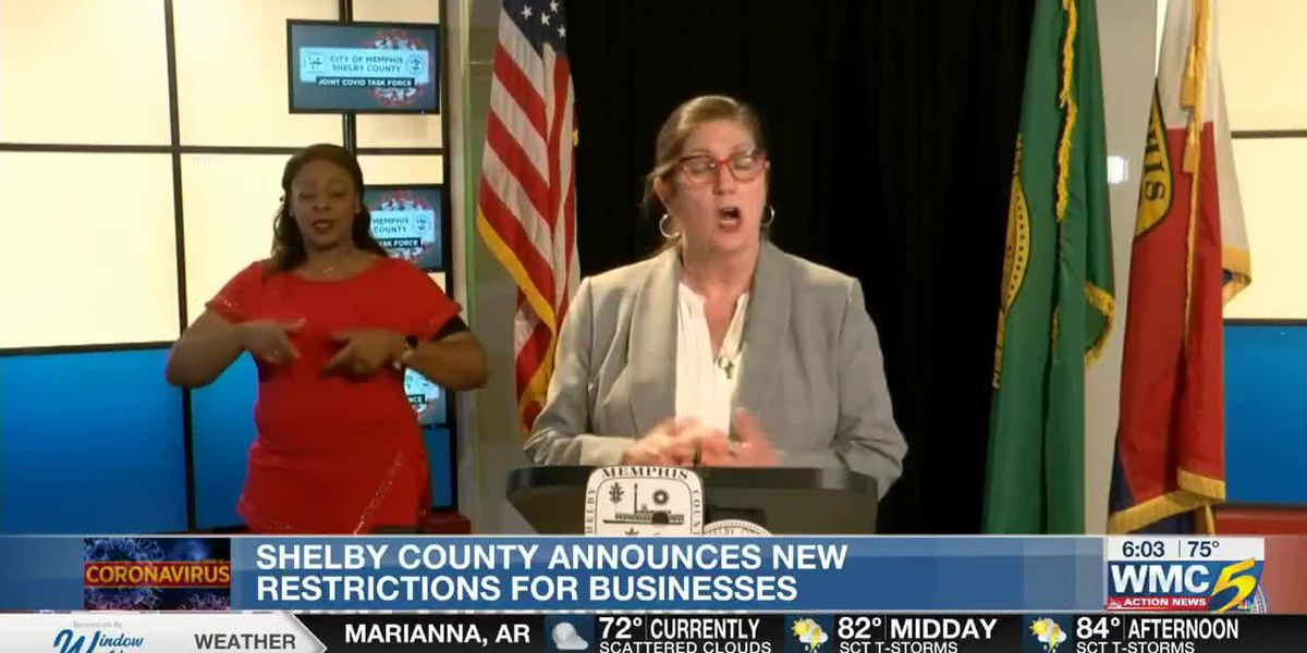 Shelby County announces new restrictions for businesses