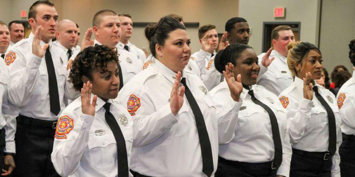 Memphis Fire Department graduates new firefighters