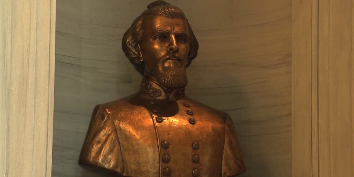 Commission votes to move controversial Nathan Bedford Forrest bust from State Capitol