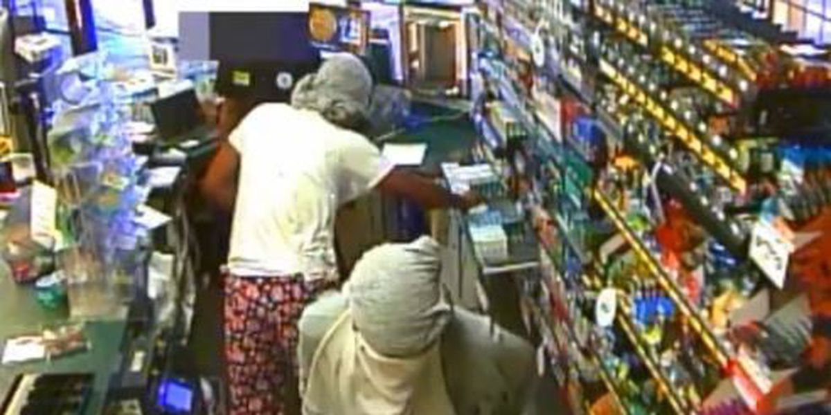 Two men rob MAPCO at gunpoint, get away with cash