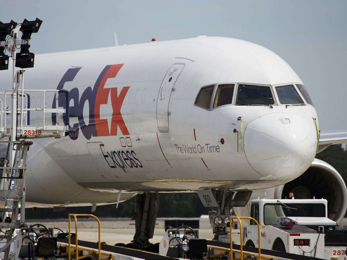 A FedEx pilot is detained before boarding a flight in China