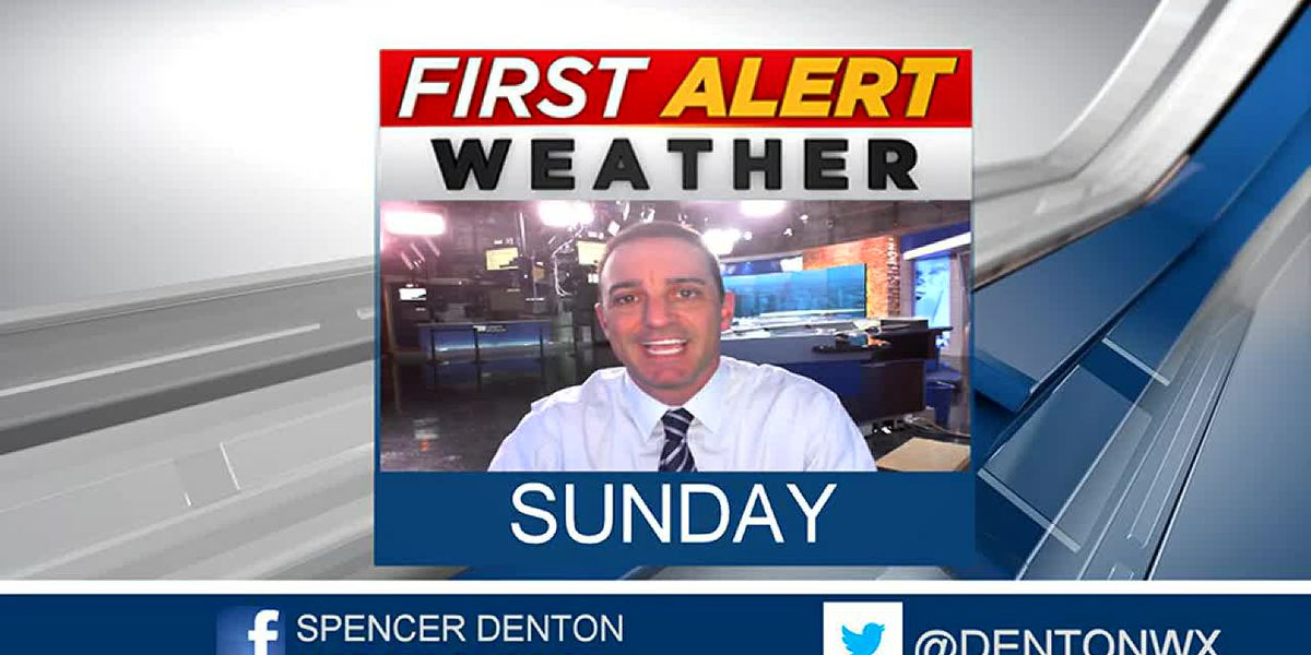 Spencer's Sunday Forecast