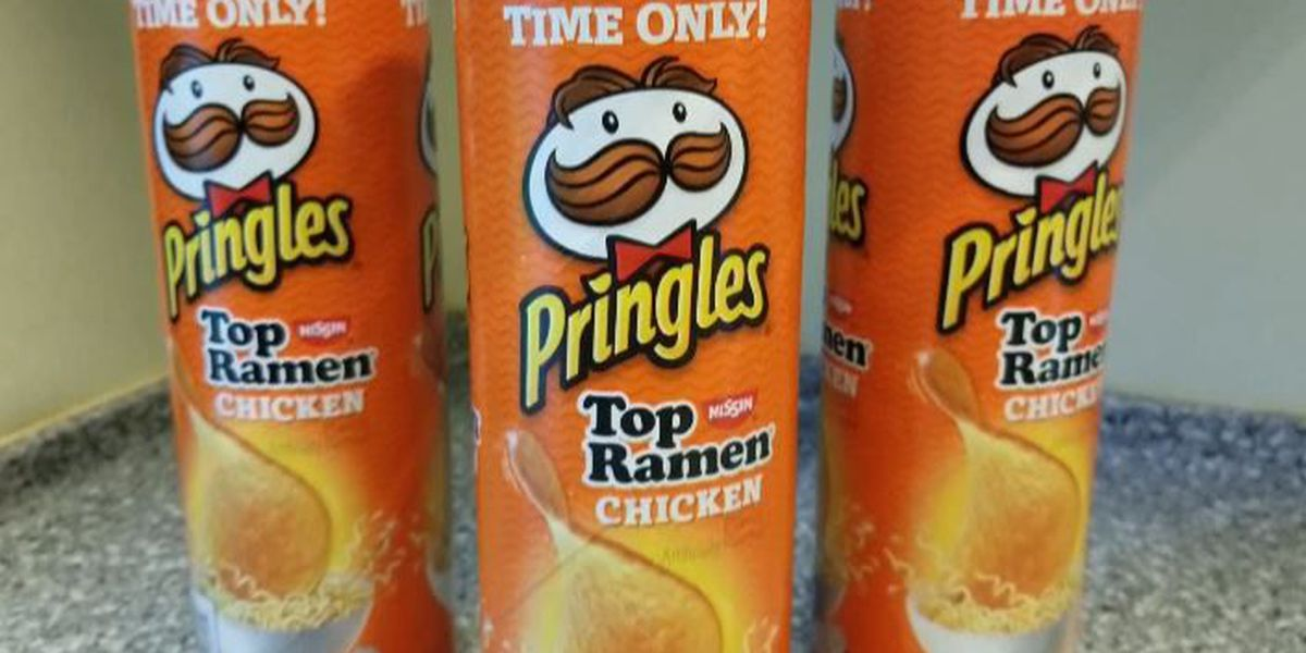 New Pringles flavor brings Ramen soup to chip form