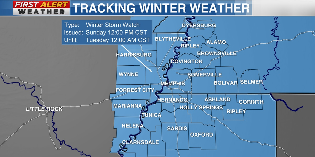 Winter Storm Warning: Mid-South seeing significant snowfall