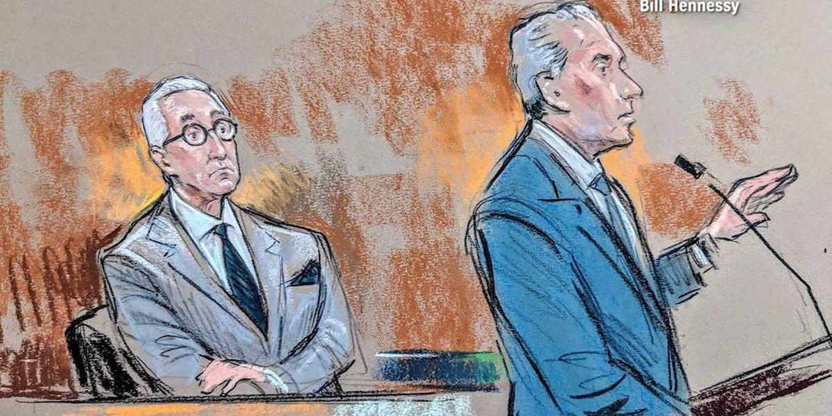 Judge sets Nov. 5 trial date for Trump confidant Roger Stone