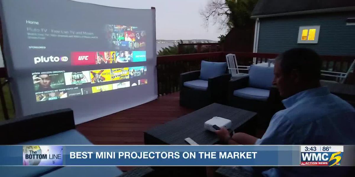 Bottom Line: Consumer Reports reviews best mini projectors for backyard movies