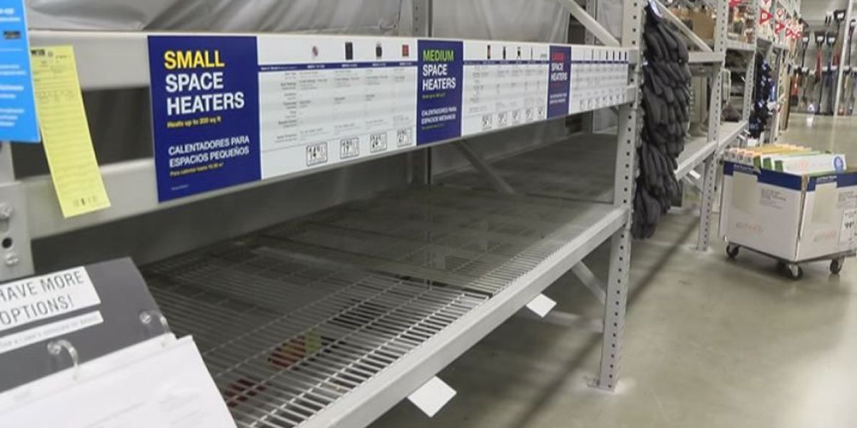 Local grocery and hardware stores running low on supplies as Mid-Southerners brace for winter storm