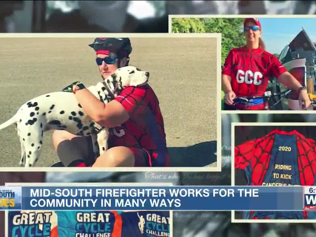Mid-South Hero: Firefighter works for the community in many ways