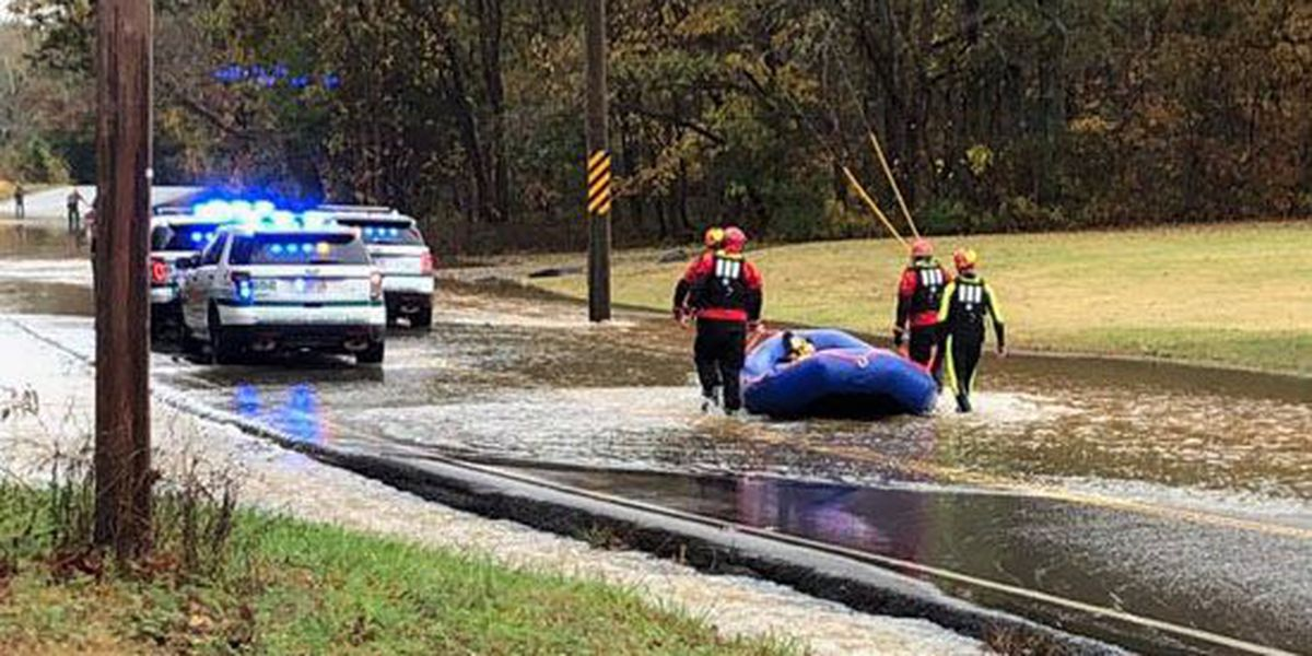 At least 5 people saved during flooding in Middle Tennessee
