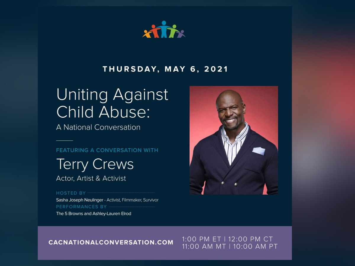 Child Advocacy Centers team up with actor, activist, and survivor Terry Crews
