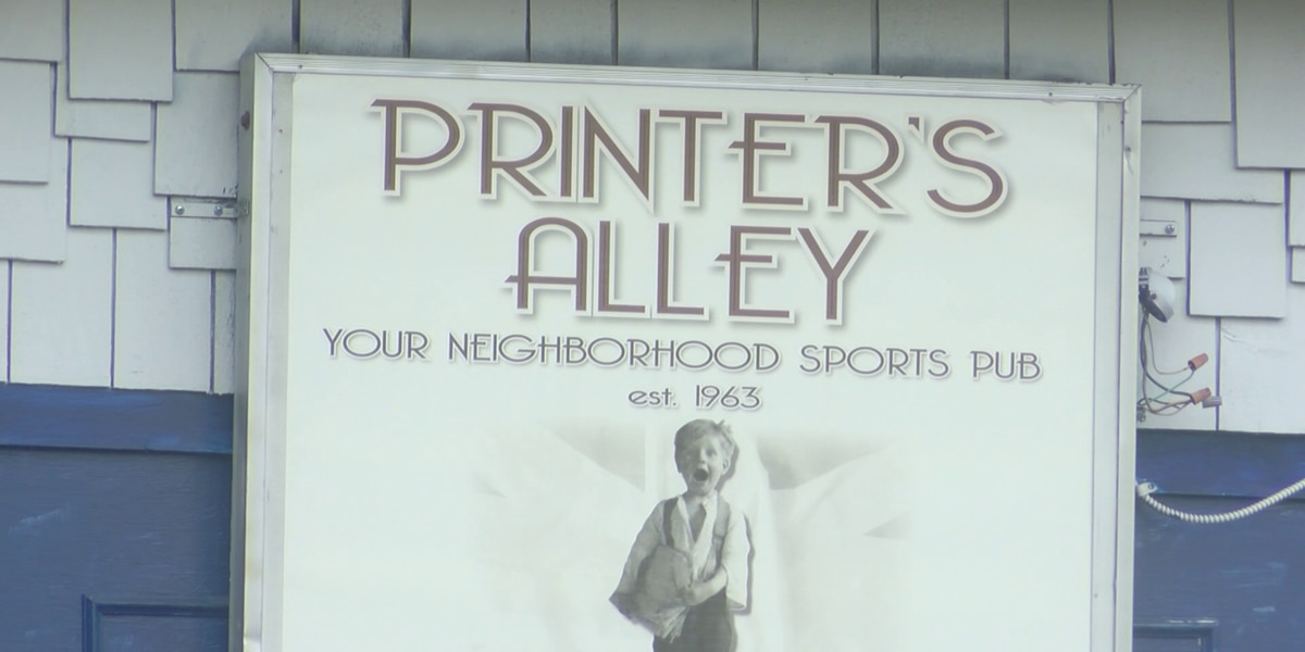 Printer's Alley owners hope to reopen by next year