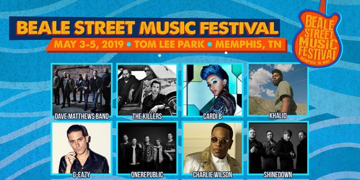 Beale Street Music Festival performance times announced