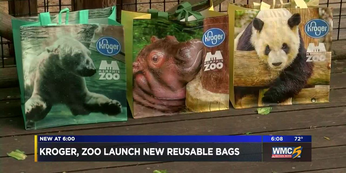 Memphis Zoo, Mid-South Kroger stores team up to launch reusable bags