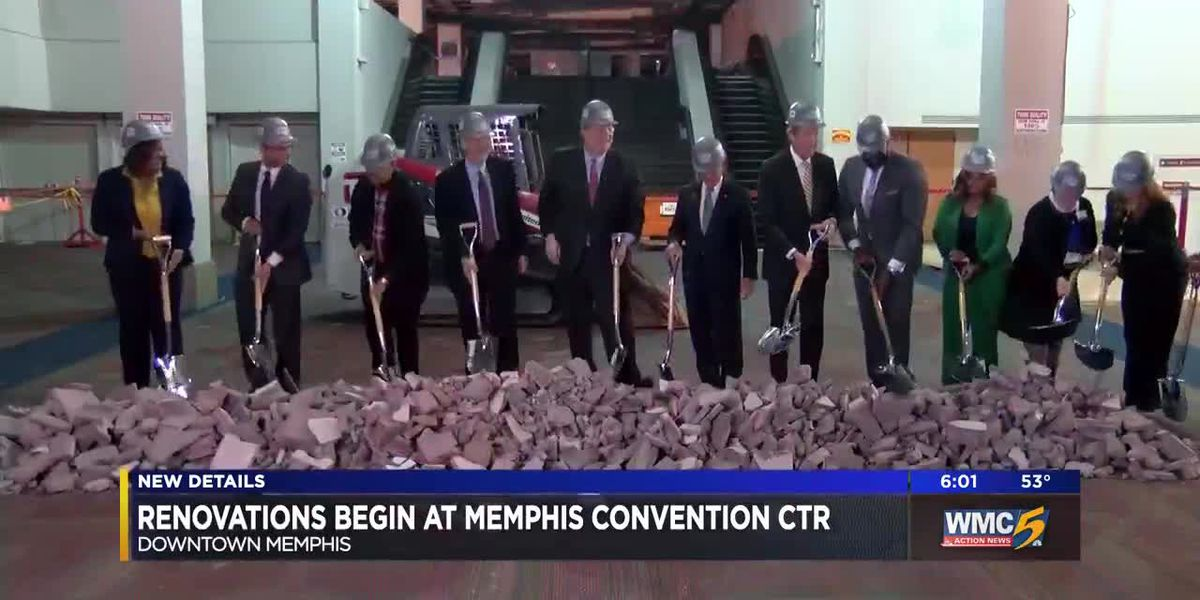Renovations begin at Memphis Convention Ctr