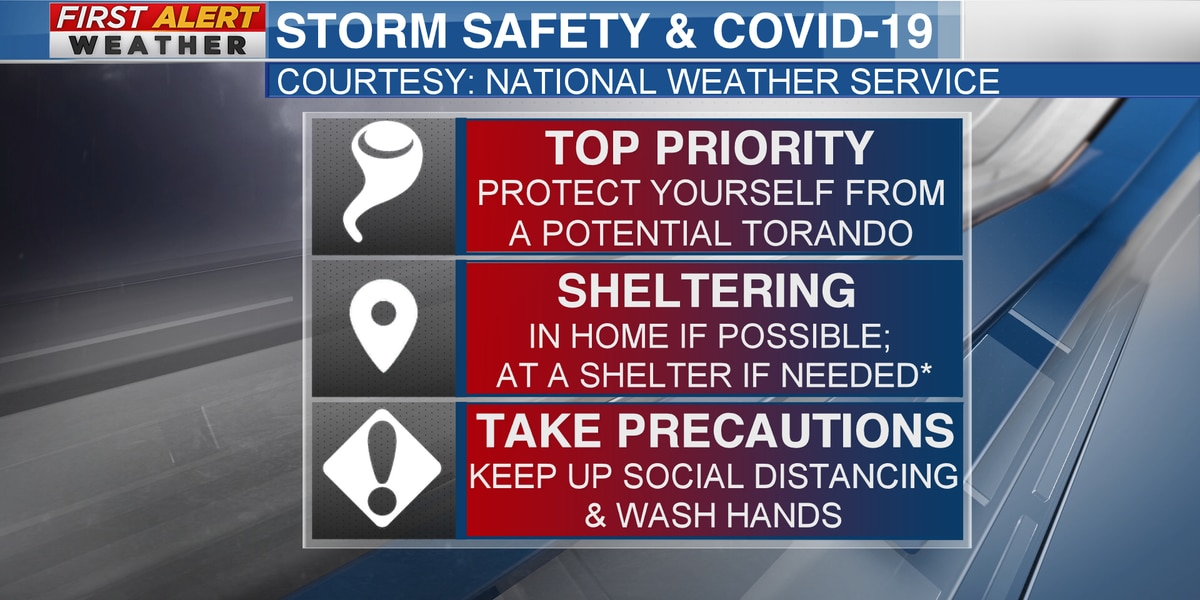 Mississippi leaders give update on storm safety during COVID-19 pandemic