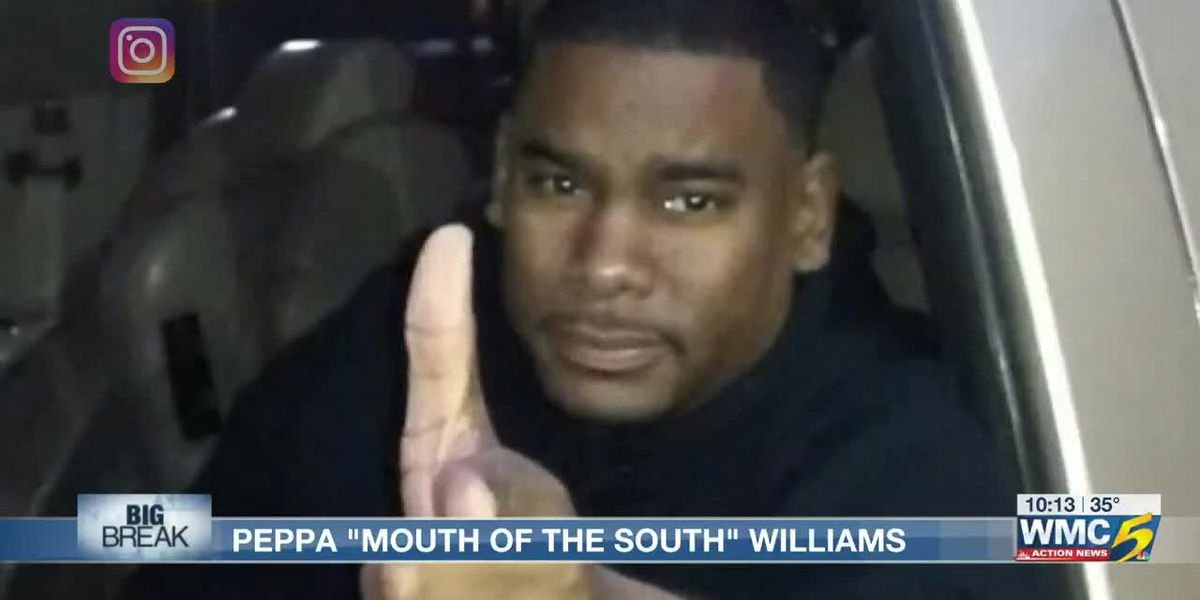 Big Break: Memphis' 'Peppa Mouth of the South' using his success to give back to the city