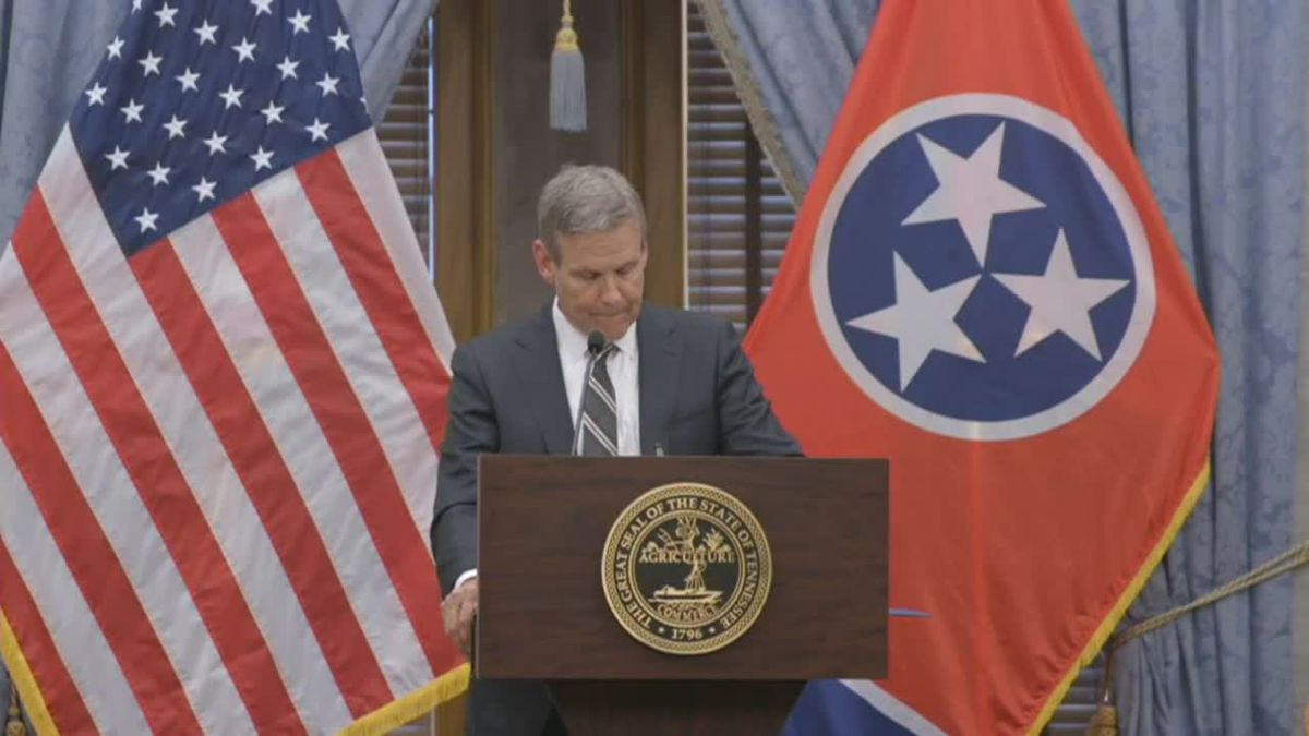 Gov. Lee addresses 'difficult and tragic' school shooting in Knoxville