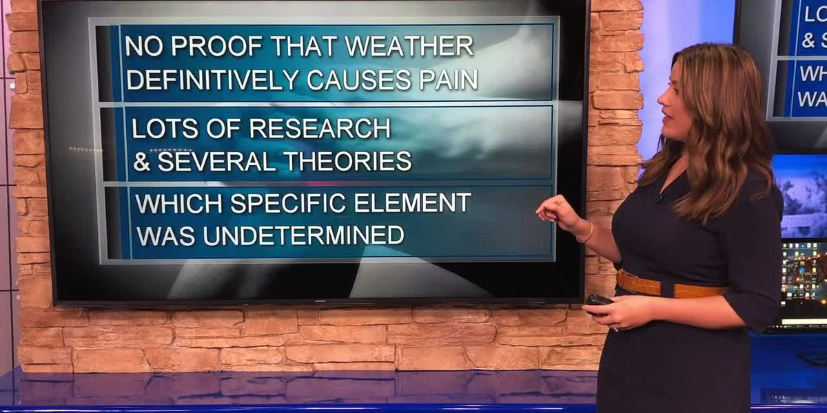 Why weather can make your joints ache
