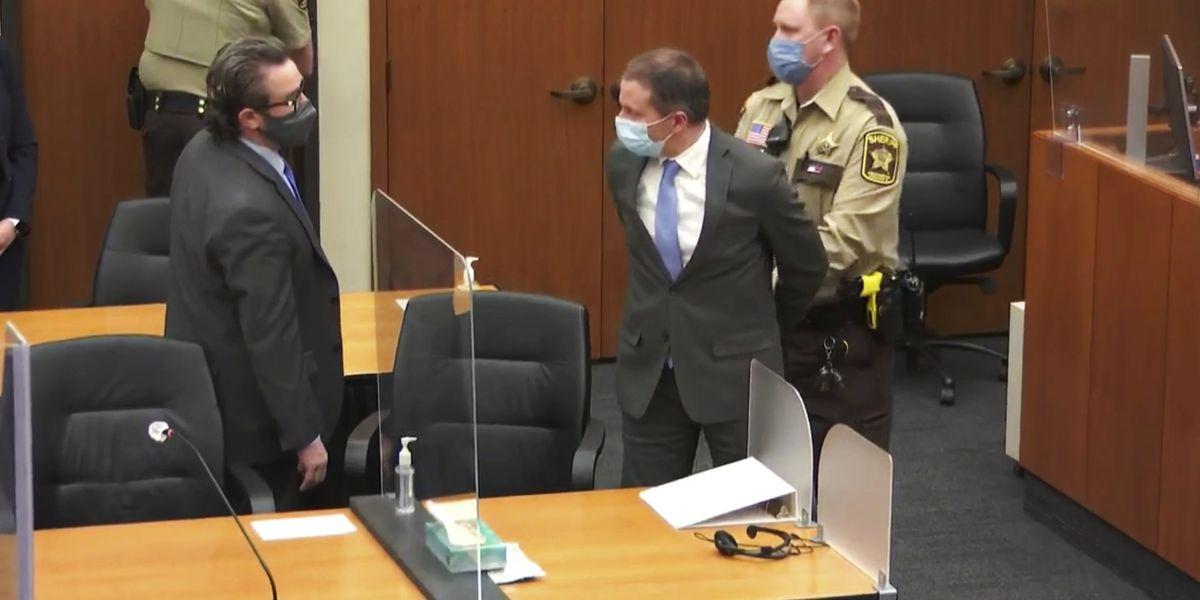 Chauvin guilty of murder and manslaughter in Floyd case