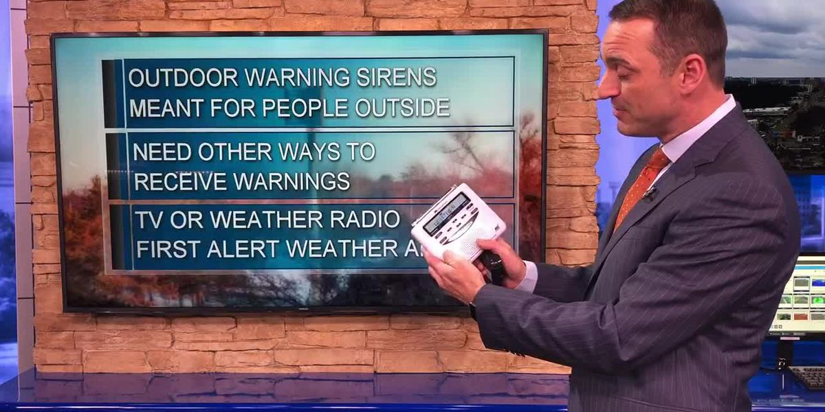 Why tornado sirens shouldn't be your only resource