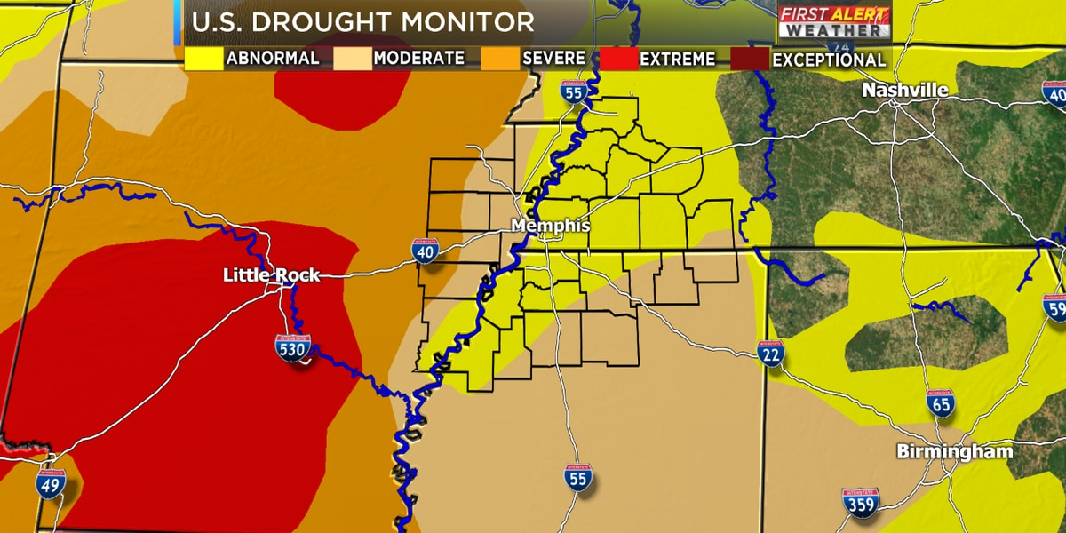 Drought conditions getting worse across the Mid-South