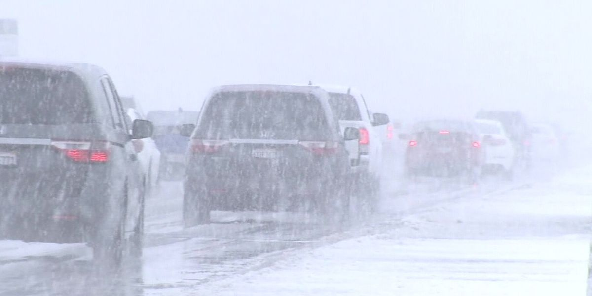 Winter weather causing dangerous snow and road conditions