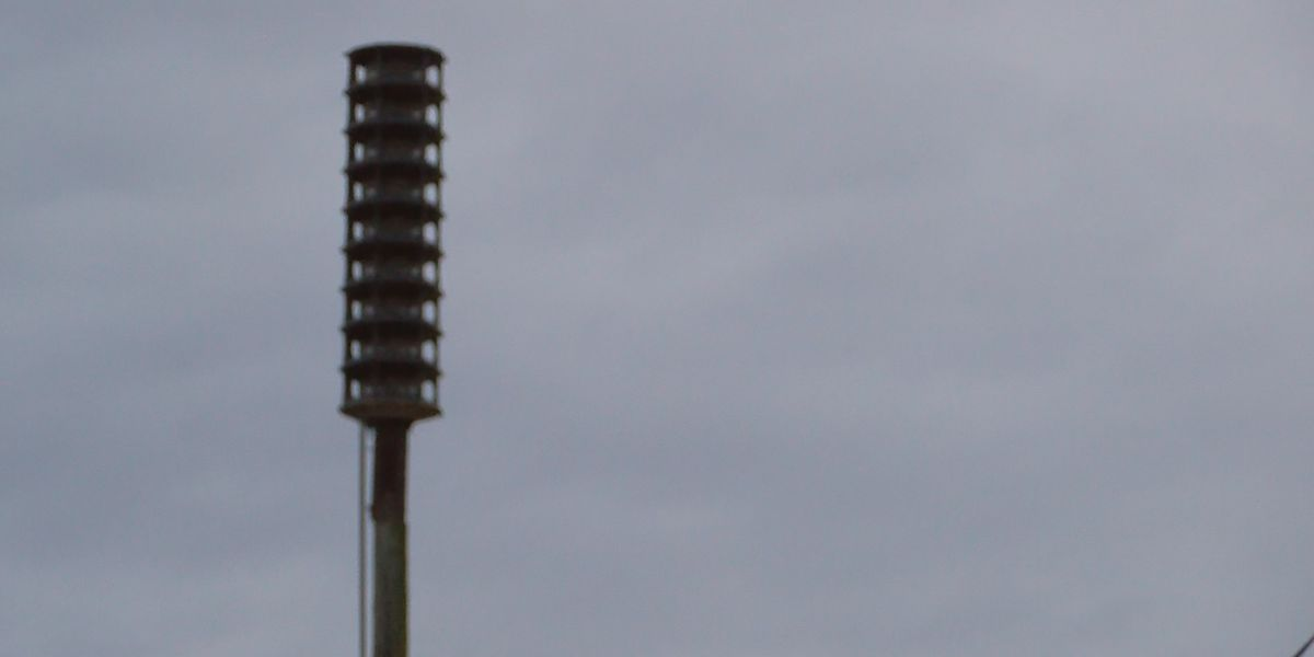 Emergency management office says outdoor sirens could sound today for maintenance ahead of chance for severe weather