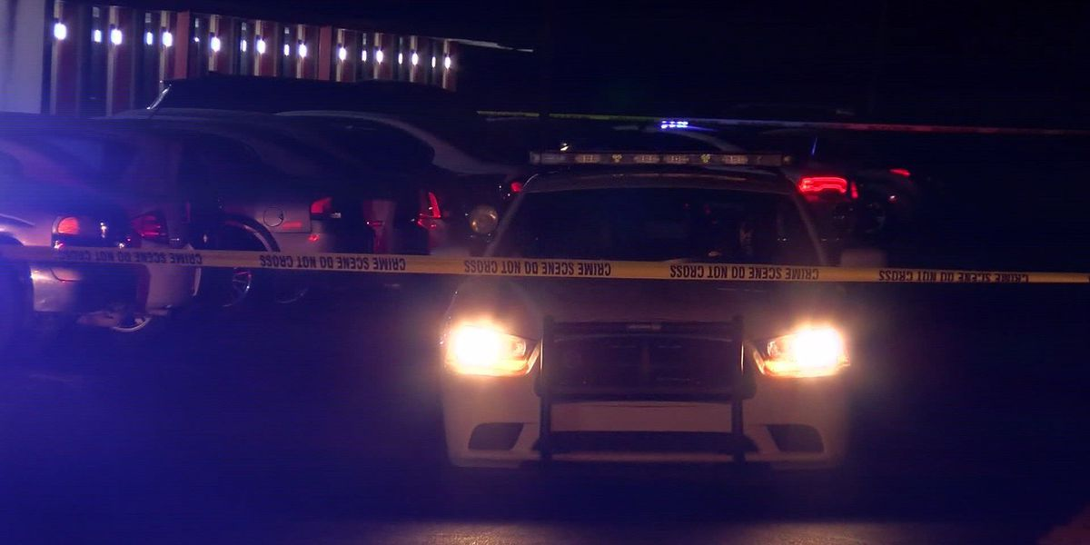 Person in hospital after motel shooting