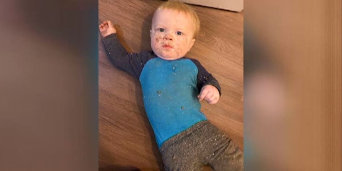 Baby boy rescued after falling 8 feet down heating vent in Oregon home