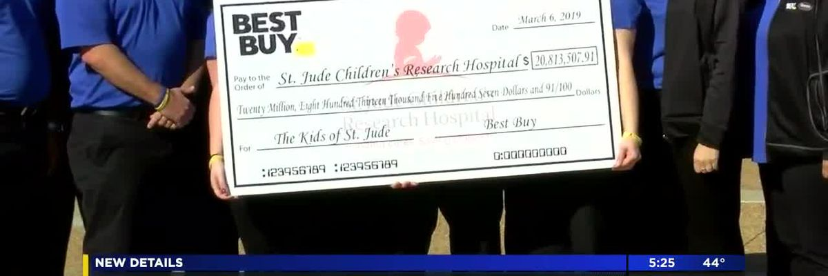 Best Buy donates $20.8M to St. Jude Children's Research Hospital