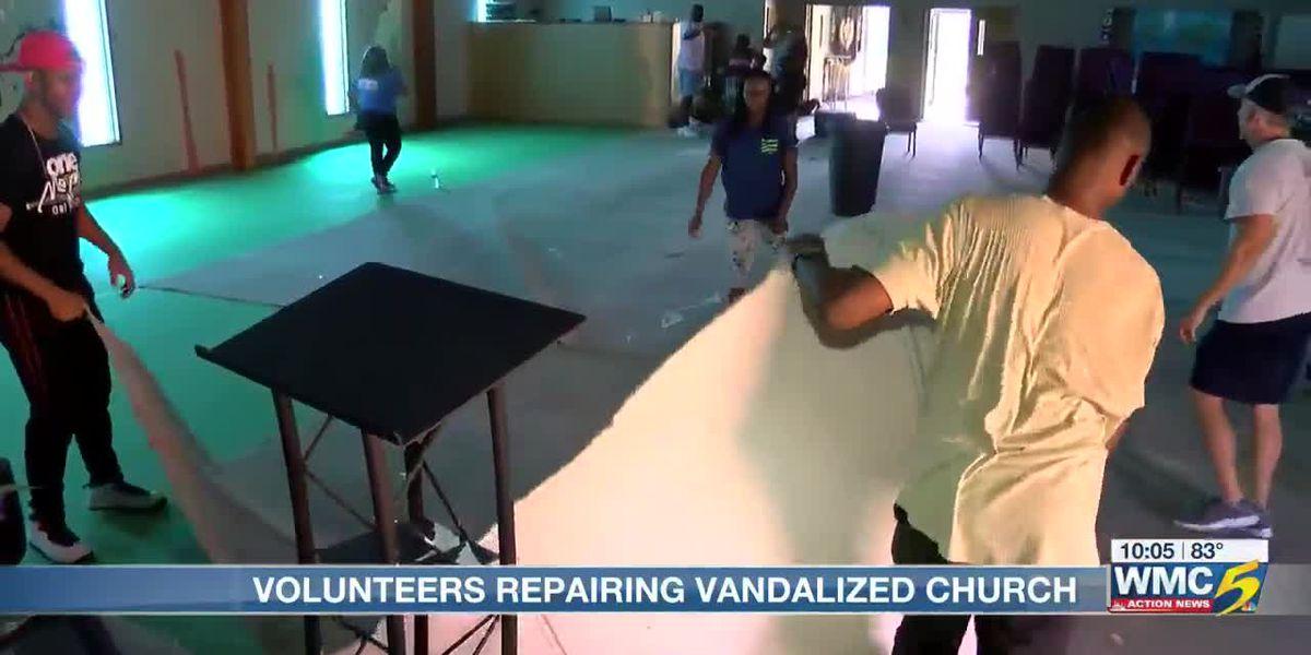 Frayser church receives community response after vandalism