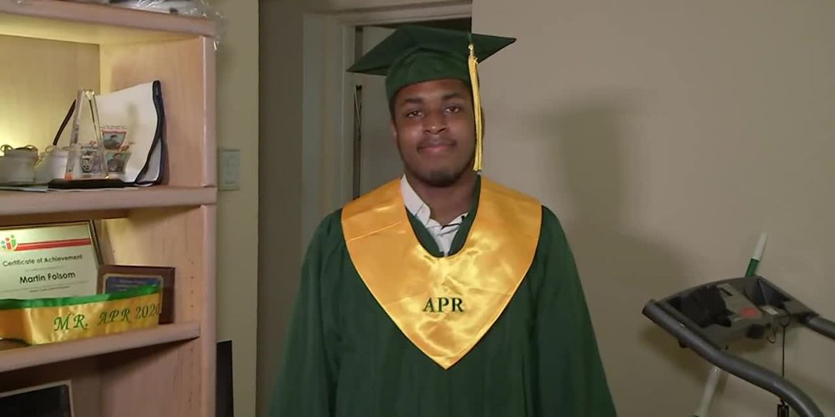 Homeless student to graduate as valedictorian