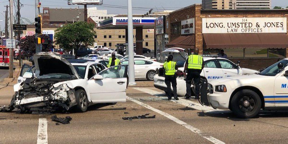 MPD officer involved in crash