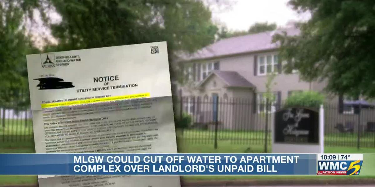 Residents worried after MLGW threatens to shut off their water despite paying their rent