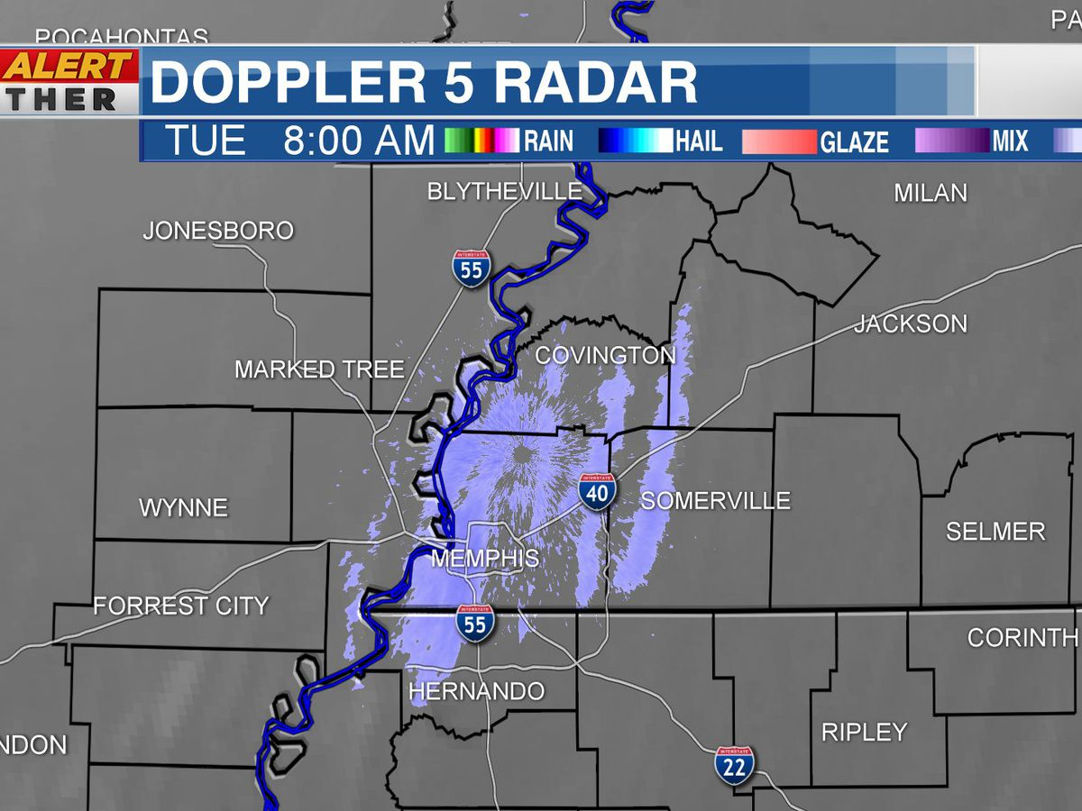 Memphis sees river effect snow Tuesday: What is it?