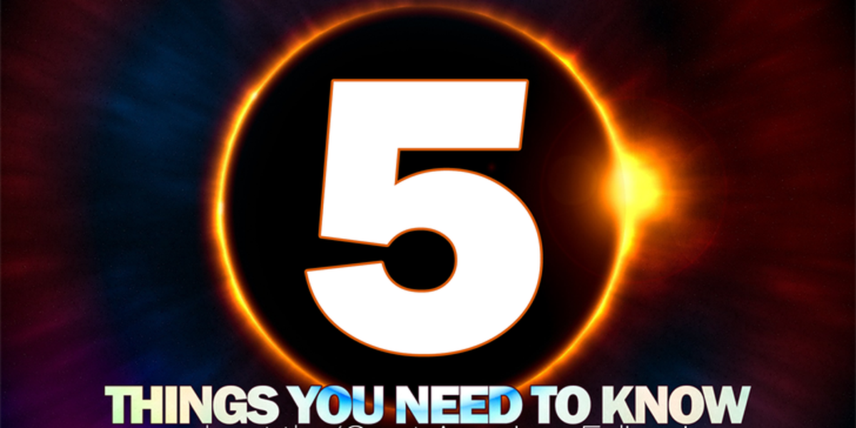 5 things you need to know about the eclipse