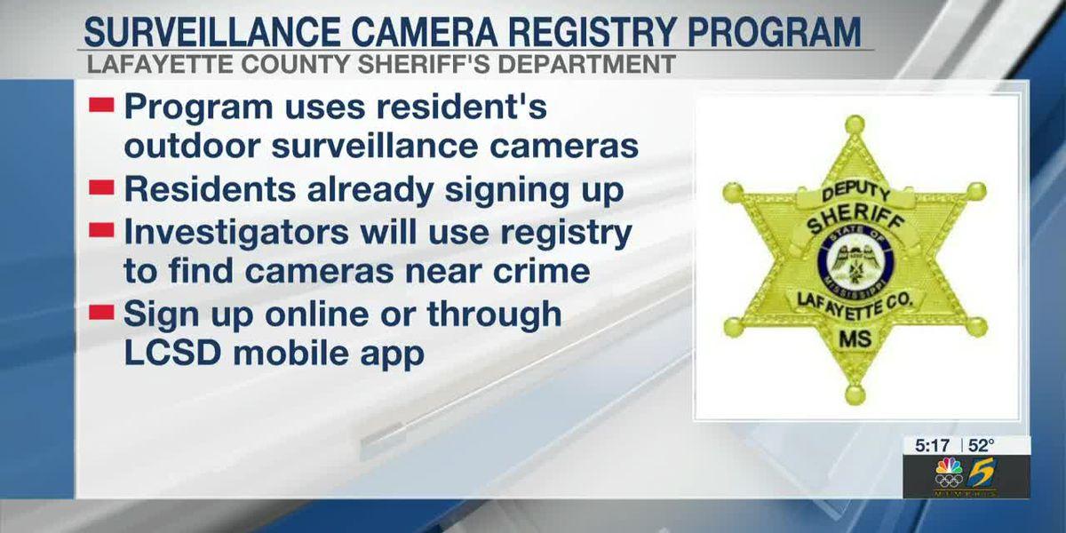 Lafayette County Sheriff's Office launches surveillance camera program