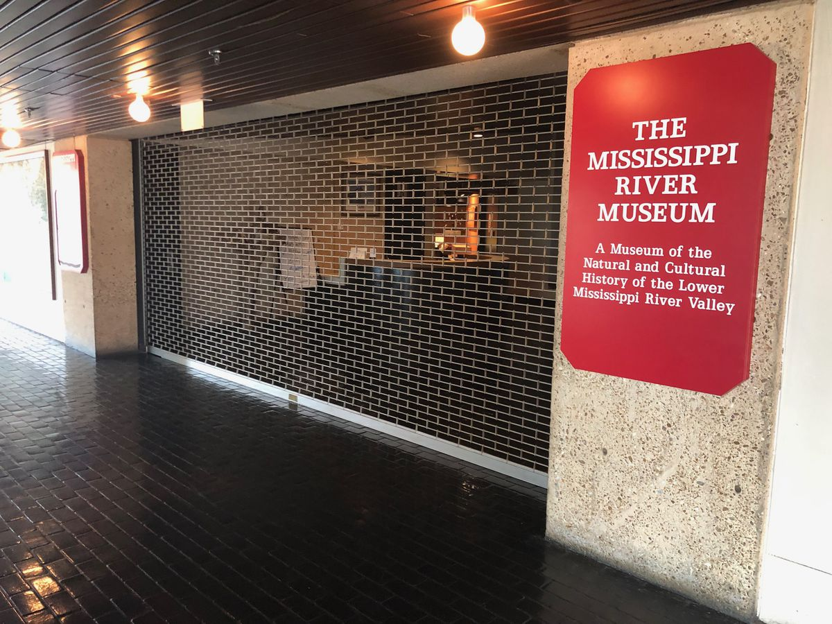 Mud Island museum vandalized