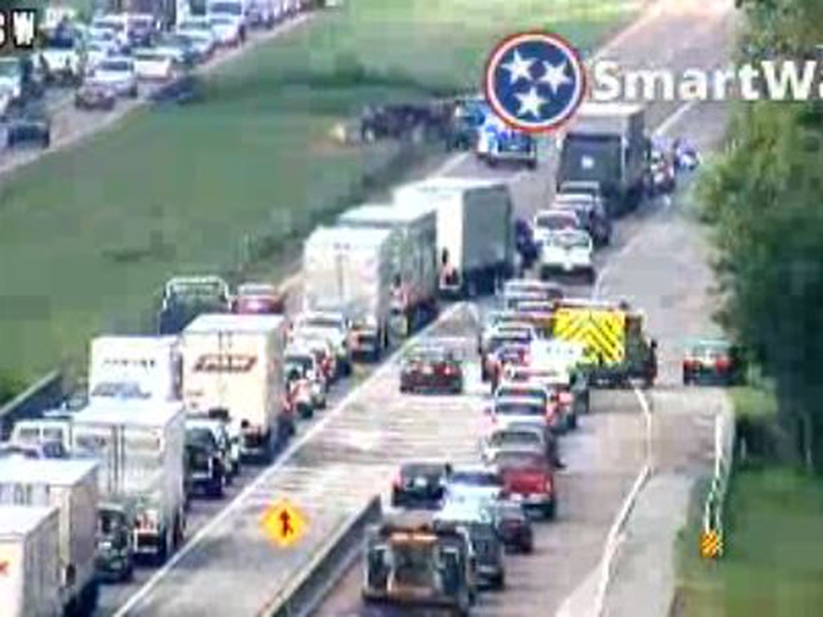 TDOT: Multi-vehicle crash on I-40 causing major delays