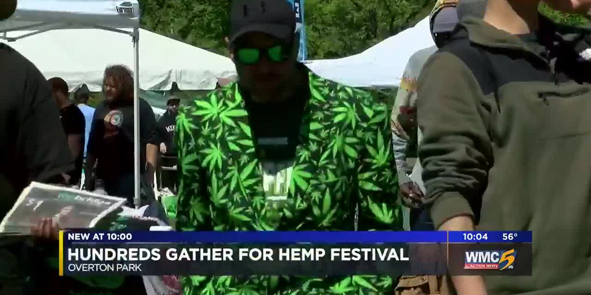 Hundreds gather for Hemp Festival
