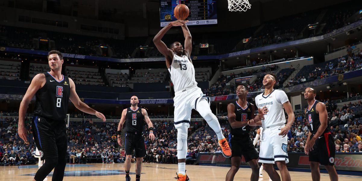 Memphis Grizzlies defeat rival L.A. Clippers