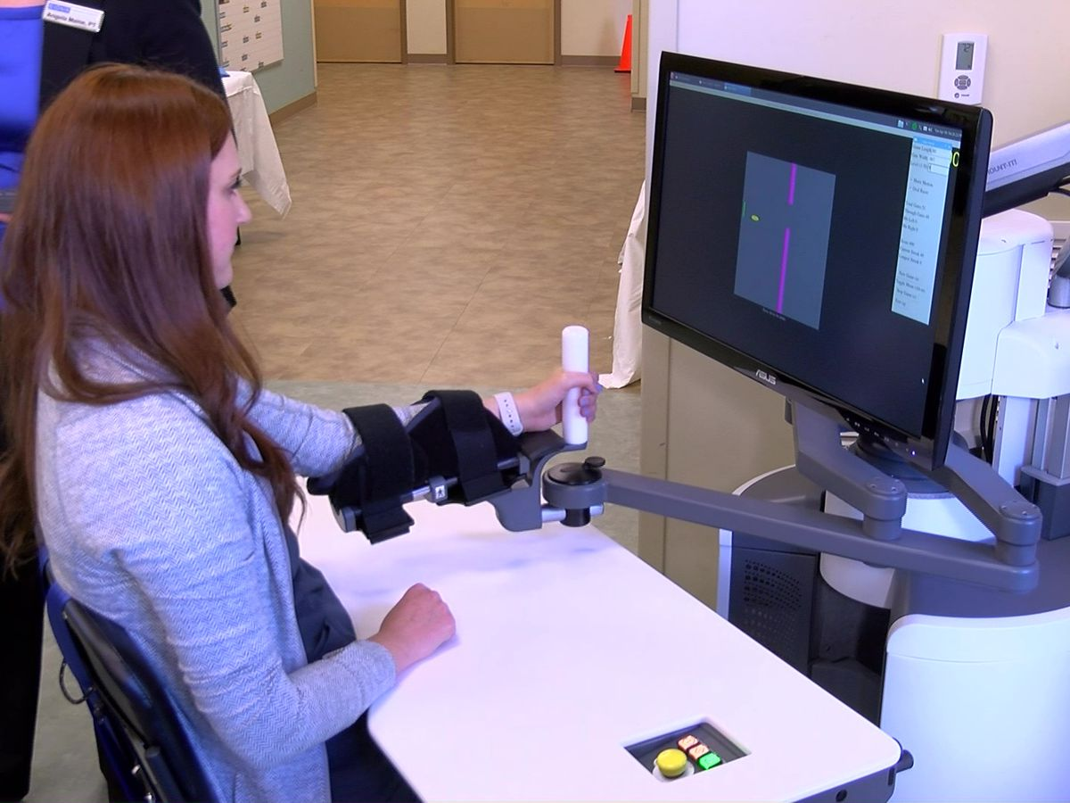 Germantown hospital offers robotic rehab for stroke patients