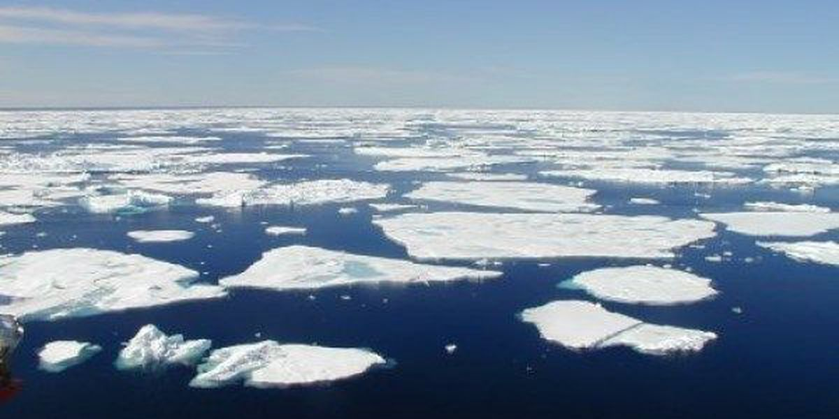 Record low Arctic sea ice in winter is not a good sign