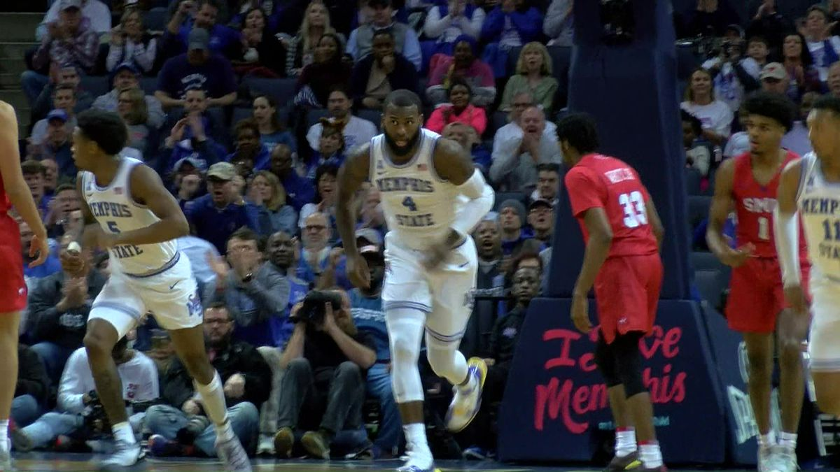 be4ef2356a764 UofM Tigers improve to 12-6 overall after Saturday s victory over SMU