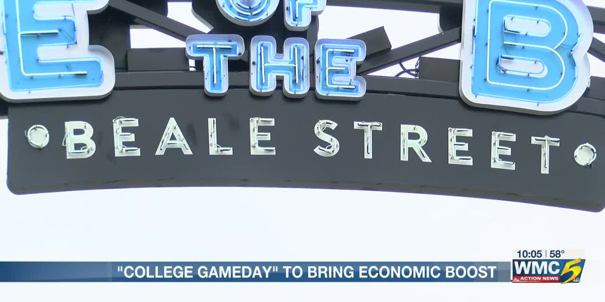 College GameDay to bring economic boost to the Bluff City