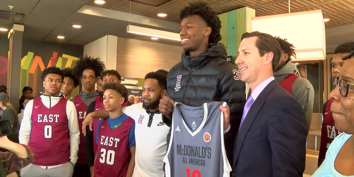 Memphis' James Wiseman plays in McDonald's All-American Game