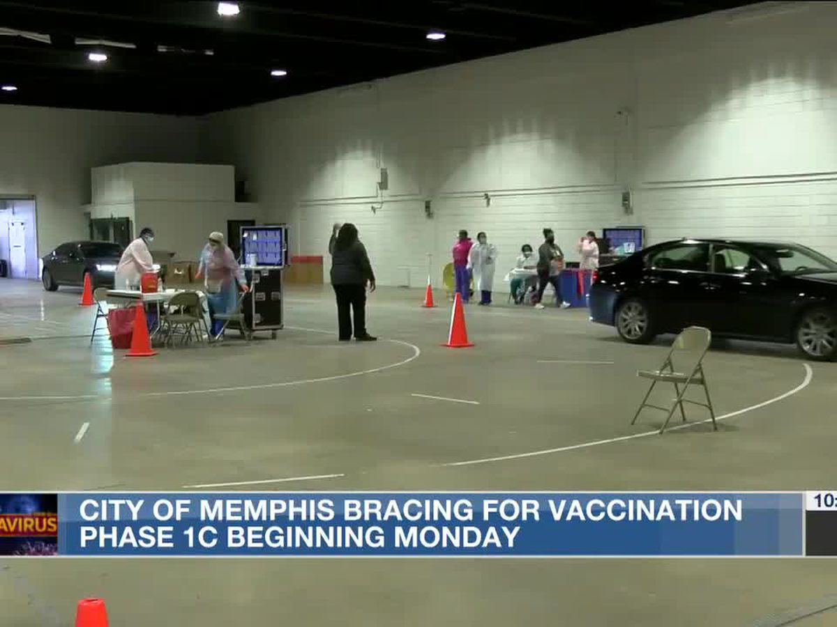 City of Memphis bracing for vaccination phase 1C