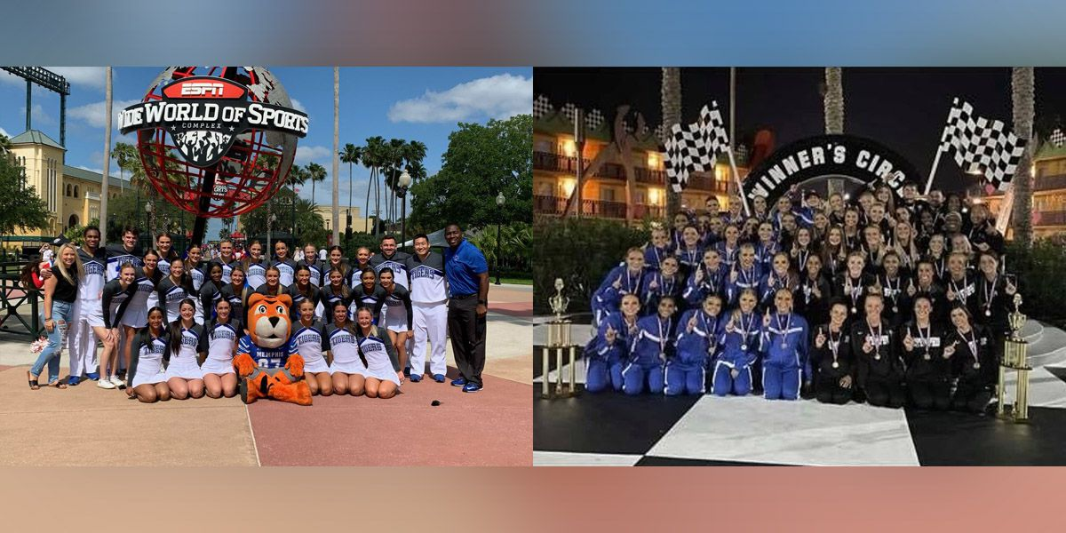 UofM Cheer and Dance teams win crowns at Nationals